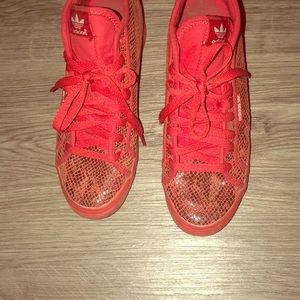 Shoes - Red Adidas